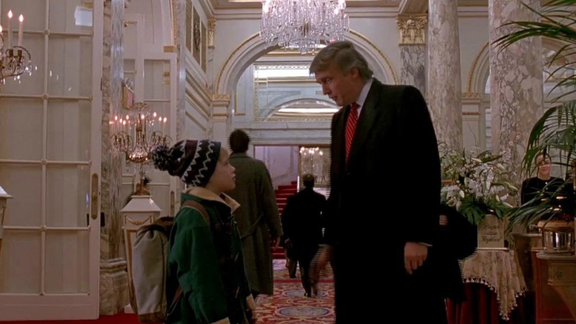 donald trump in home alone 2 (twitter)