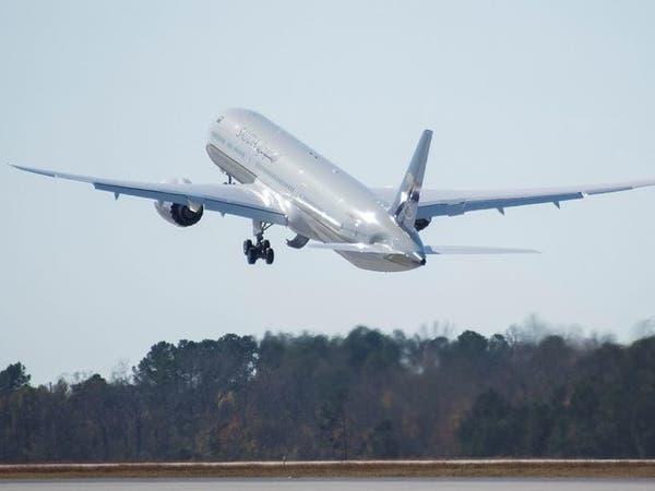 الخطوط السعودية تتسلم طائرة جديدة من بوينغ دريملاينر