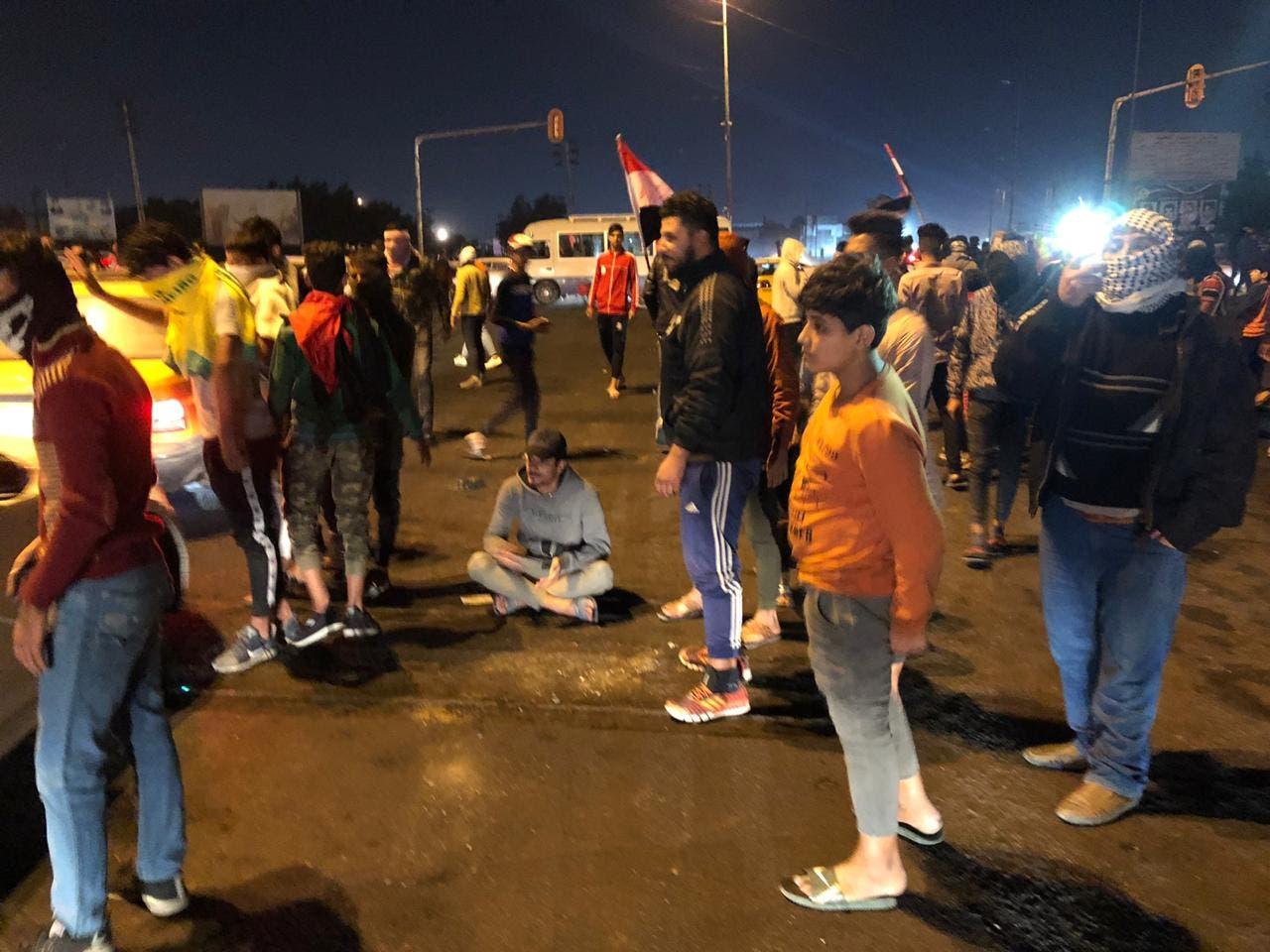 من احتجاجات البصرة