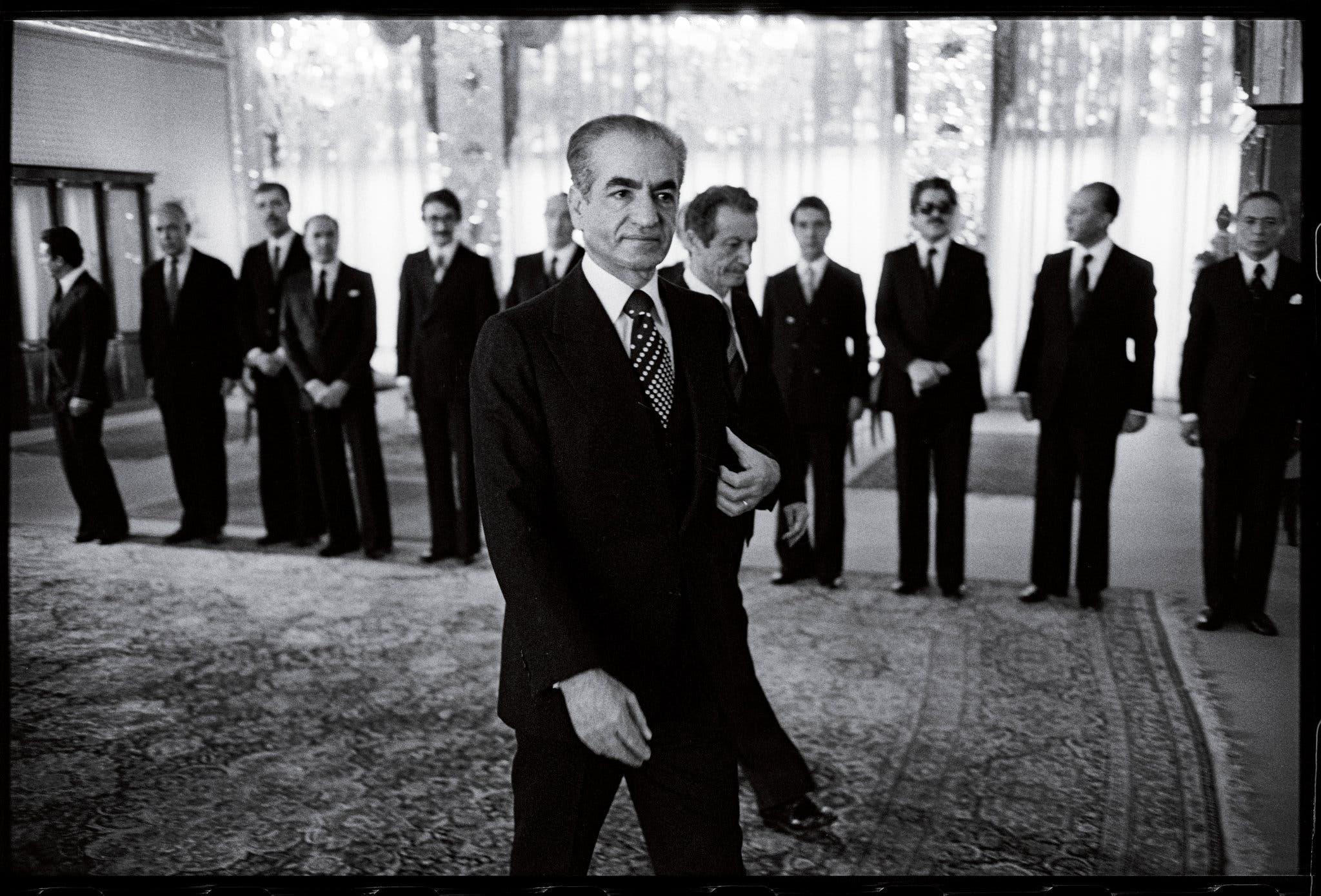 شاه إيران رضا بهلوي