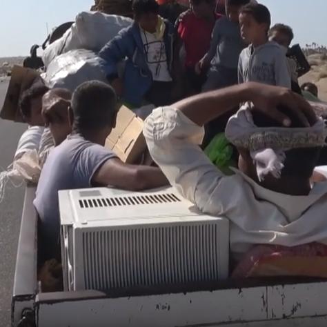 الحوثي يتسبب بنزوح أكثر من 14 ألف يمني إلى مأرب والجوف
