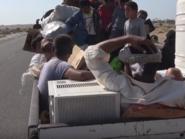قصف حوثي وراء نزوح آلاف الأسر من الجوف إلى مأرب