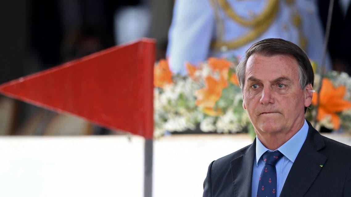 Brazilian president Jair Bolsonaro (AFP)
