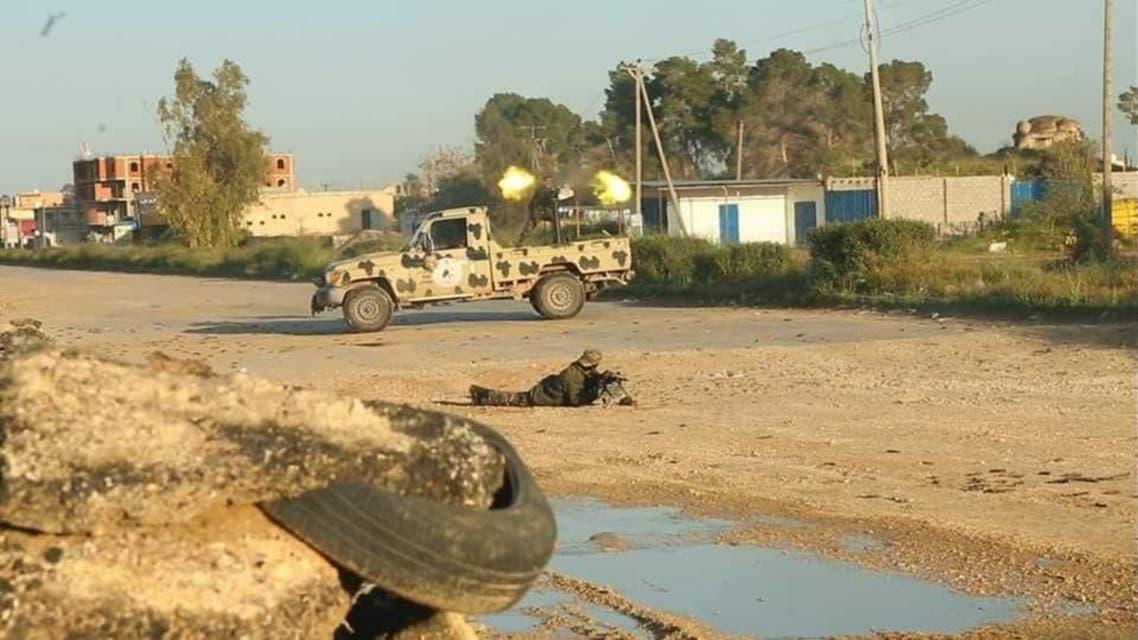 Libiya: fights