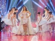 أغلى ثوب زفاف في العالم يحمل توقيعاً عربياً
