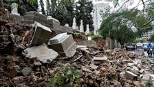 Beirut floodwaters sweep away Jewish graves