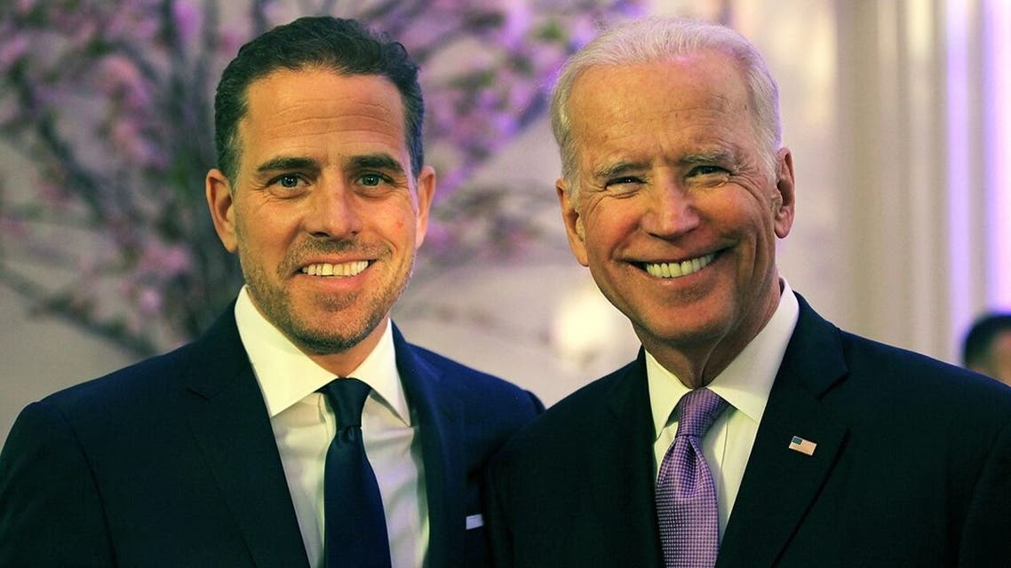 جو بايدن وابنه هنتر