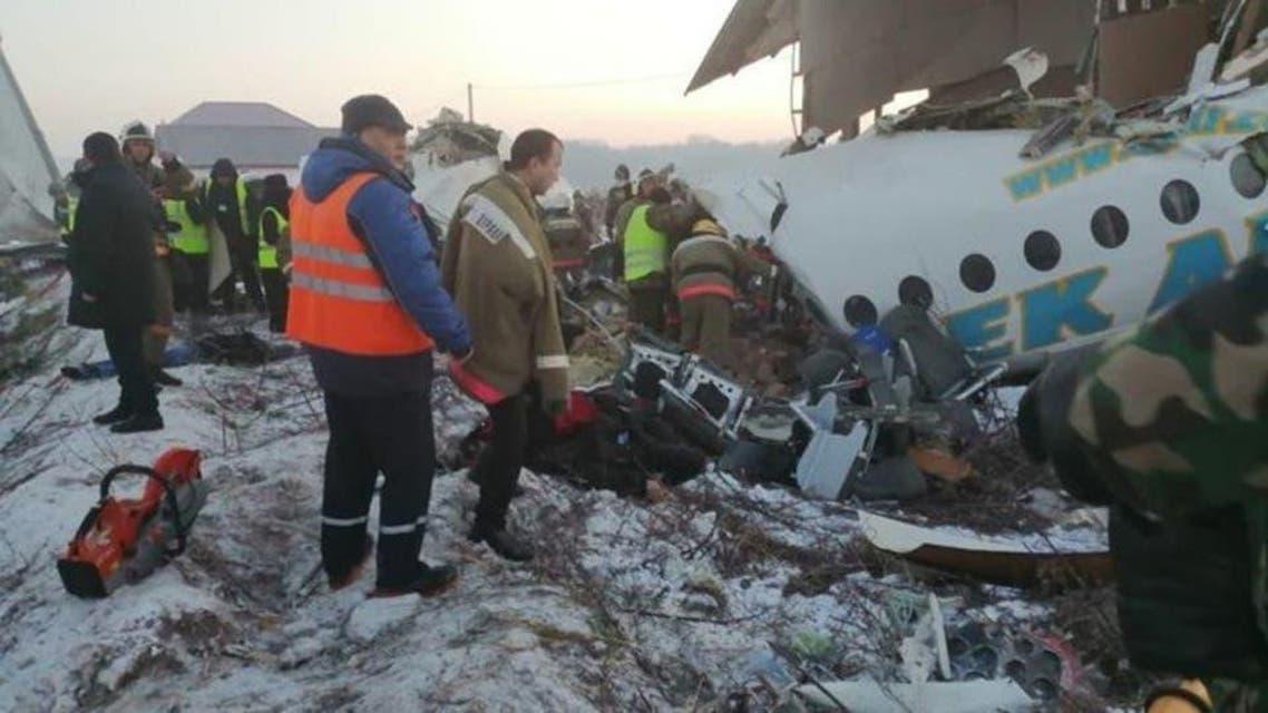 kazakhstan: Plane crashed