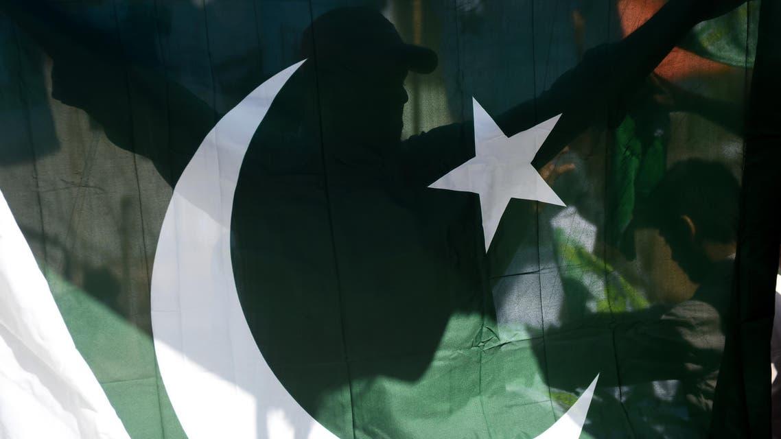 Pakistani flag. (File photo: AFP)