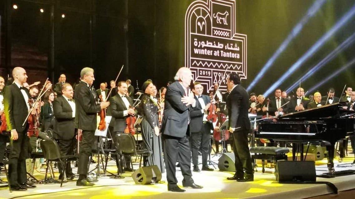 الموسيقار عمر خيرت في طنطورة