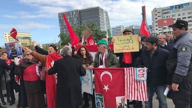 احتجاجات ضد زيارة أردوغان لتونس وتدخله في ليبيا