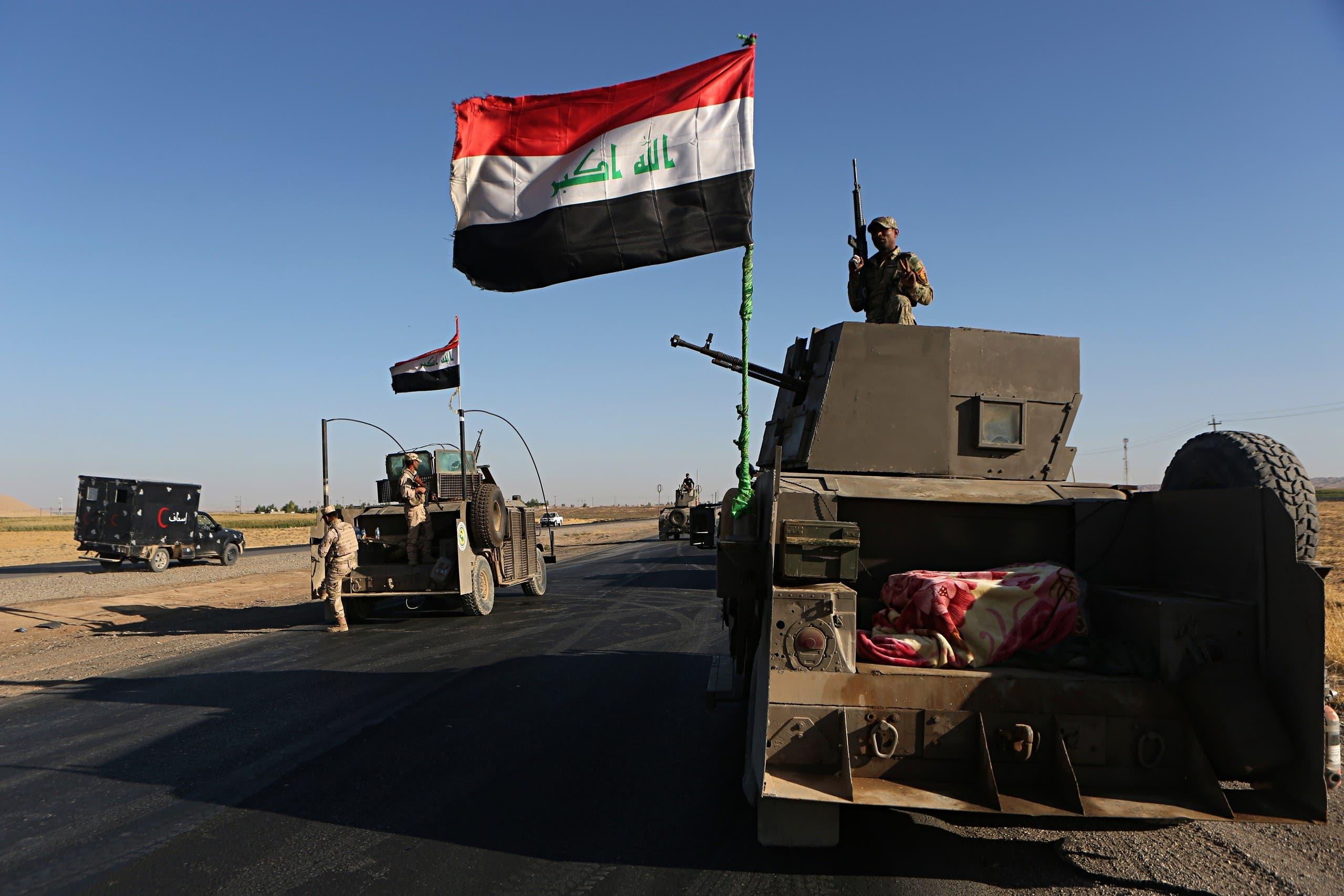 قوات عراقية  - أرشيفية من أسوشيتد برس