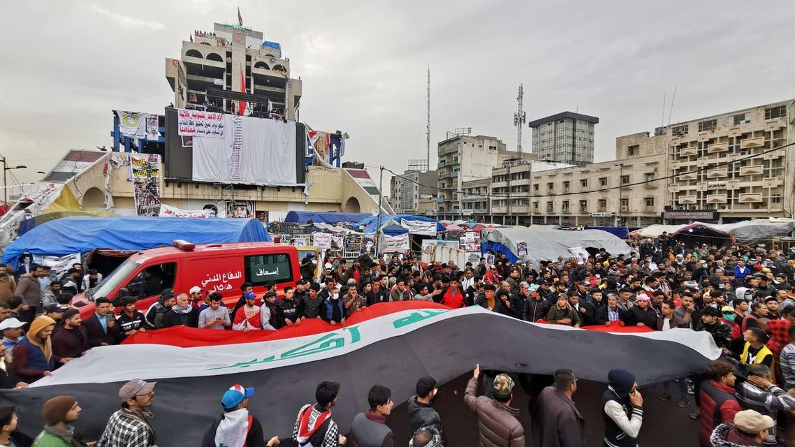 من بغداد (رويترز)