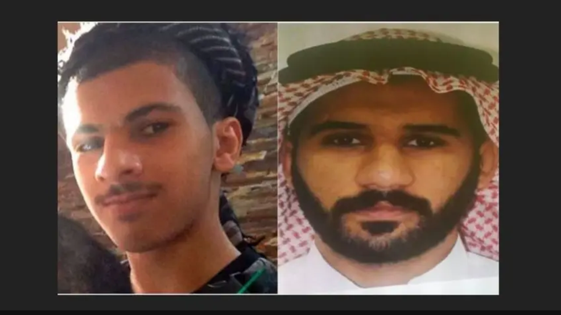 the two wanted criminals who were killed in the security operation in Dammam in Dec 2019 (Screengrab)