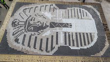 King Tut's 7,260 coffee cup mosaic breaks world record in Egypt
