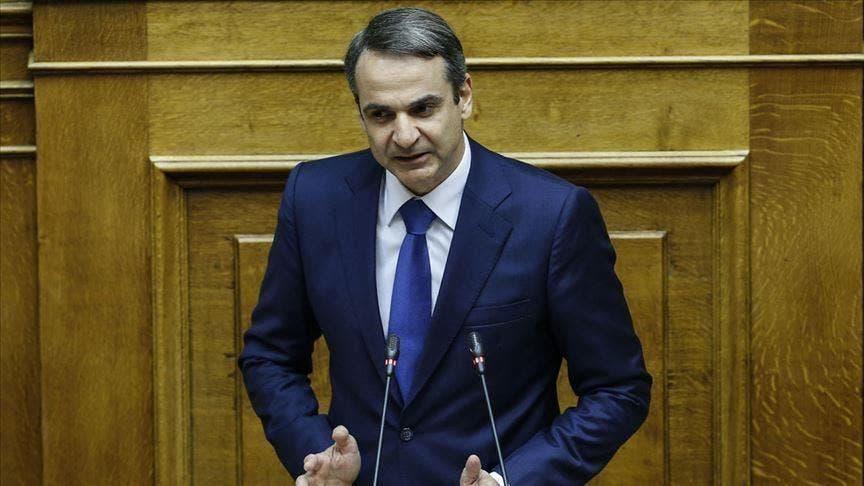 رئيس وزراء اليونان كيرياكوس ميتسوتاكيس