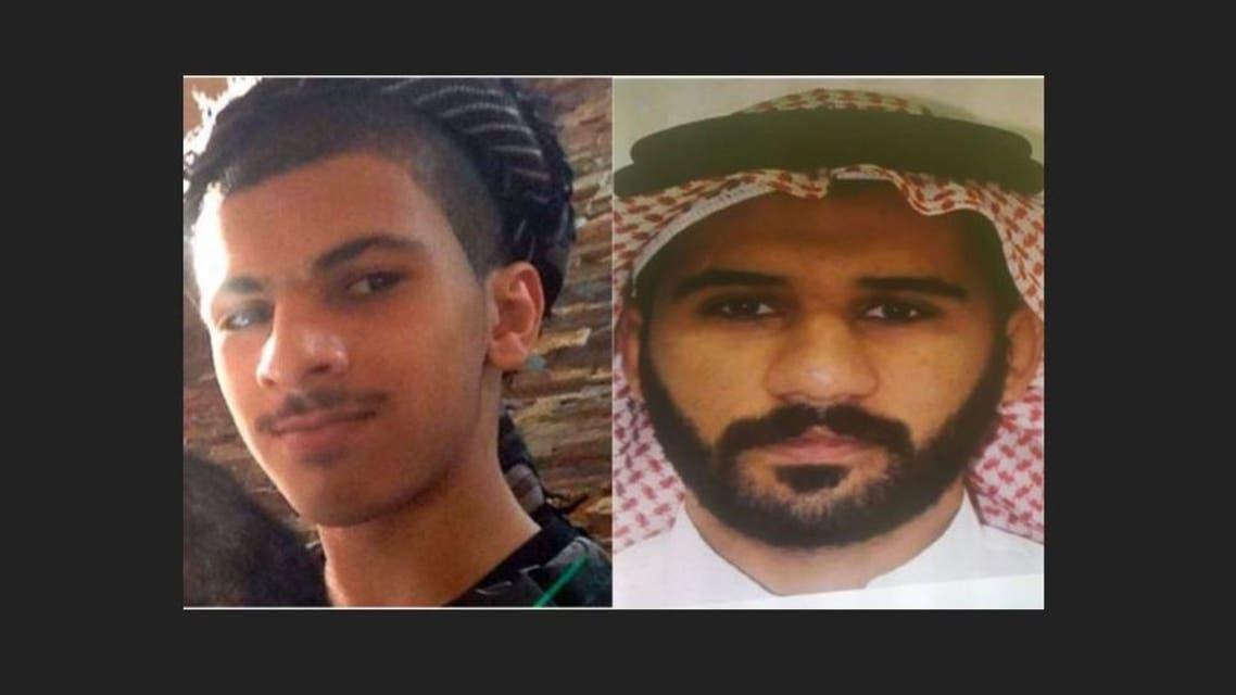 الإرهابيين أحمد عبدالله سويد وعبدالله حسين النمر