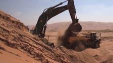 دنیا کے سب سے بڑے ریتلے ریگستان میں طویل شاہراہ کا منصوبہ تکمیل کے قریب