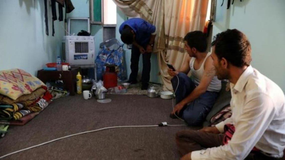 کارگران ایرانی در هتلی در اربیل