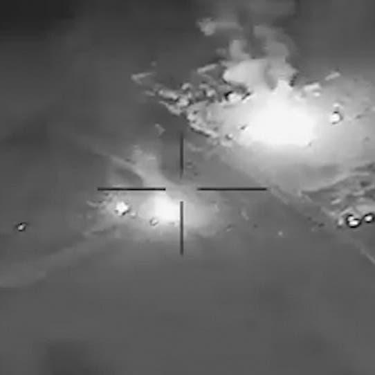 شاهد.. الجيش الأميركي يوثق ضرباته لحزب الله العراقي