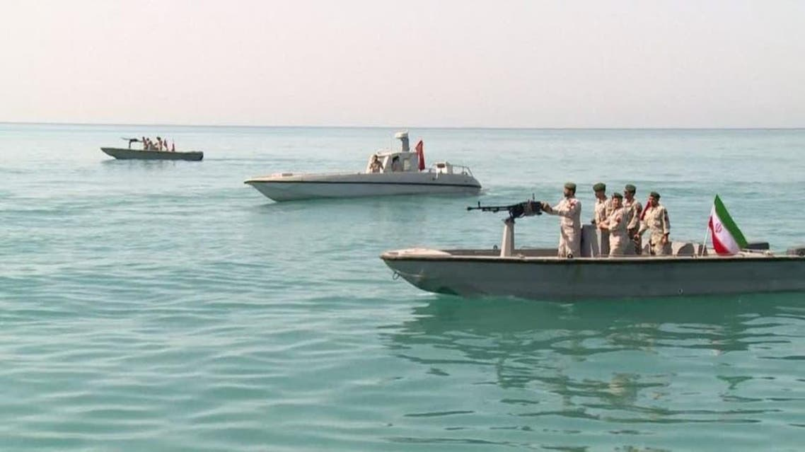 File photo of Iranian Revolutionary Guard boats. (Supplied)