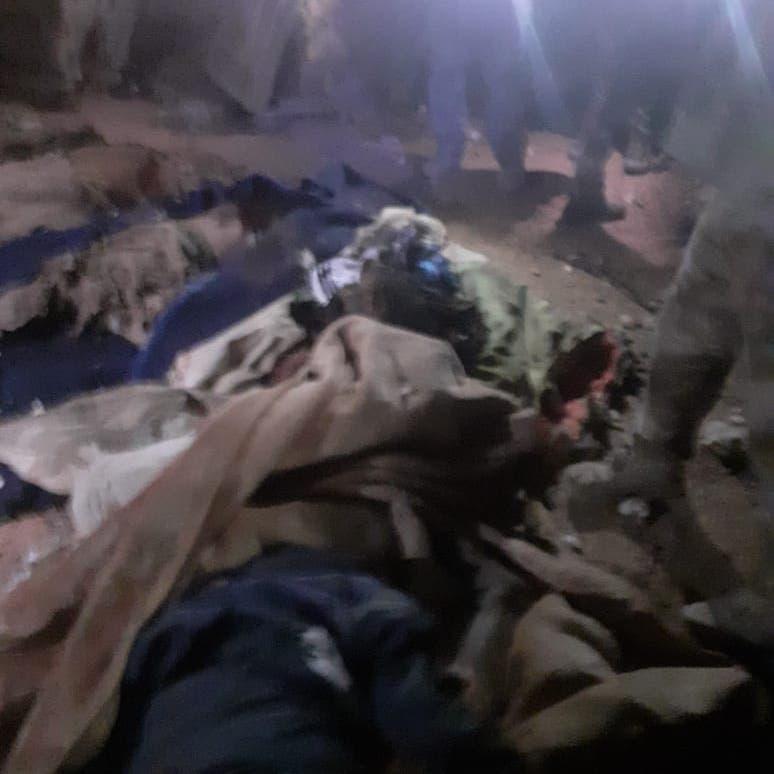 شاهد الصور الأولى للقصف الأميركي لمواقع حزب الله في العراق