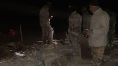 """شاهد.. دمار بمواقع """"حزب الله"""" العراقي بعد ضربات واشنطن"""