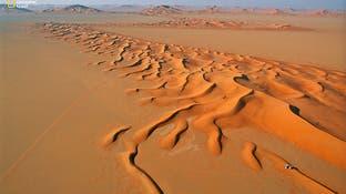 وقتی سعودیها دل بزرگترین صحرای ماسهای جهان را میشکافند