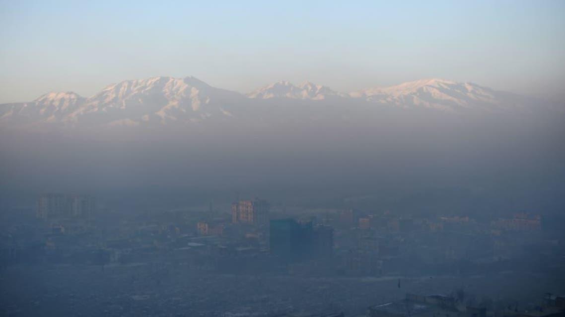 جان باختن 17 نفر در اثر آلودگی هوا در شهر کابل افغانستان