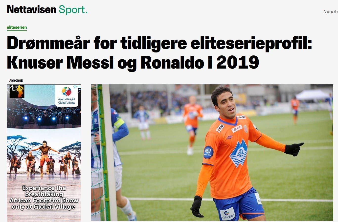 تقرير الصحيفة النرويجية عن حمدالله