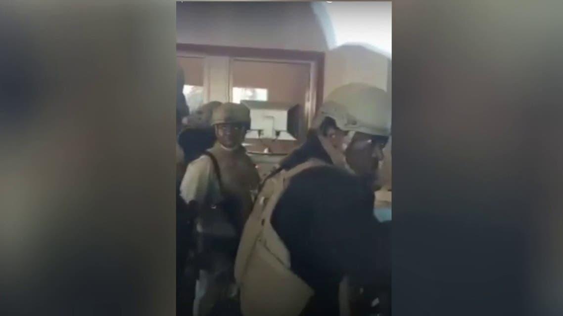 تأهب قوات أمنية داخل السفارة الأميركية في بغداد