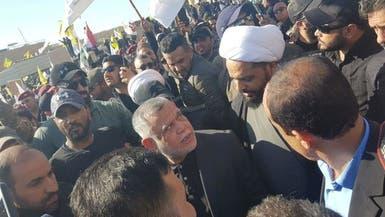 شاهد قادة الميليشيات يقودون احتجاجات سفارة أميركا ببغداد