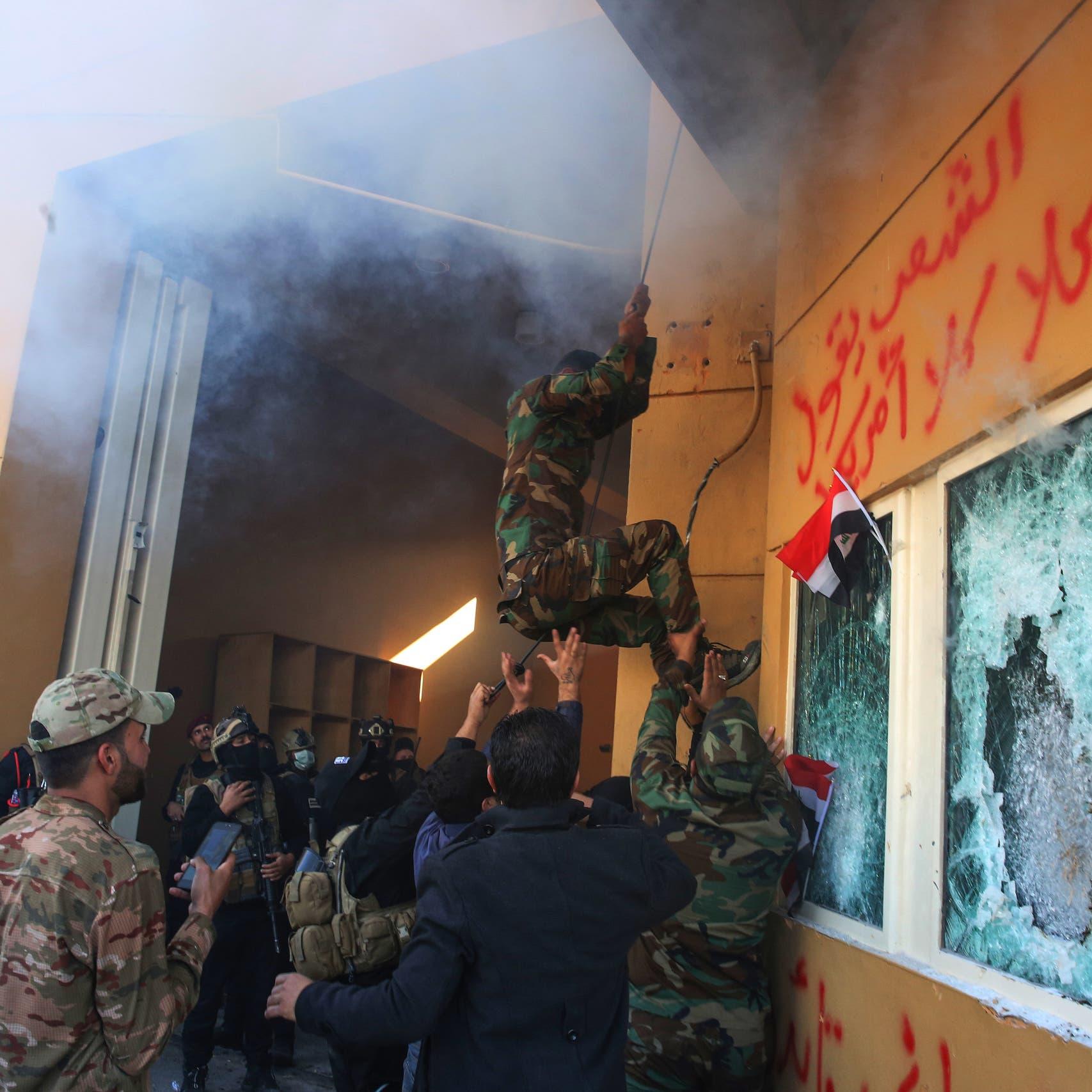 إيران تنفي علاقة مواليها بهجوم السفارة.. وصورتفضح