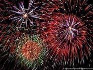 عروض للألعاب النارية في الرياض مع بداية العام الجديد