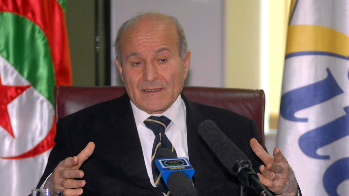 This Jan.8 2011 file photo showsfood industry magnate Issad Rebrab, owner of the Khabar media group, in Algiers. (AP)