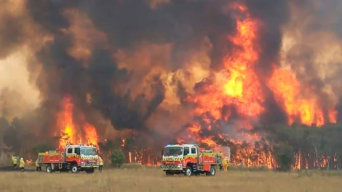 حرائق استراليا