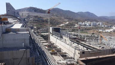 بالصور.. آخر تطورات بناء سد النهضة الإثيوبي