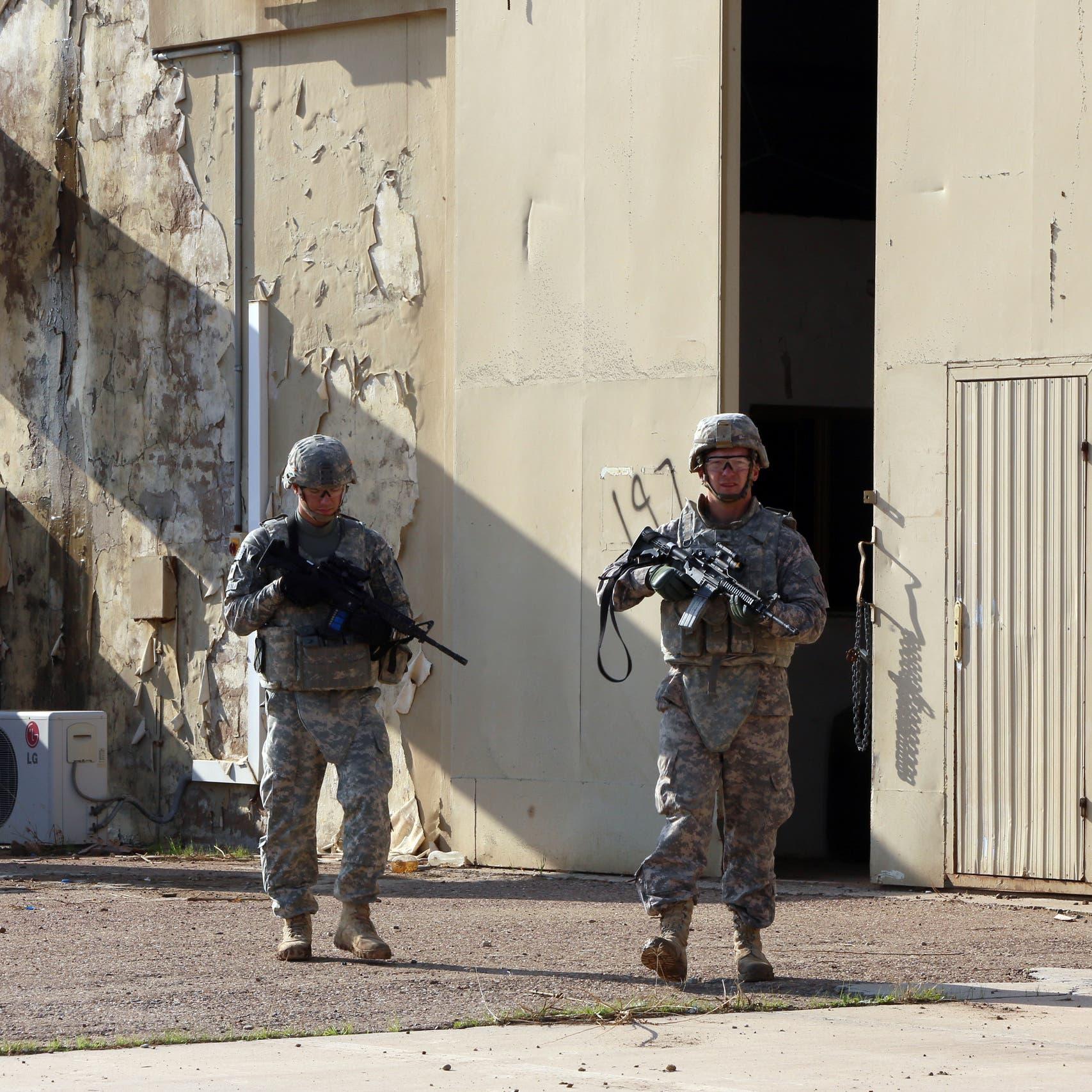 شاهد كيف أُنزل المارينز داخل السفارة الأميركية ببغداد