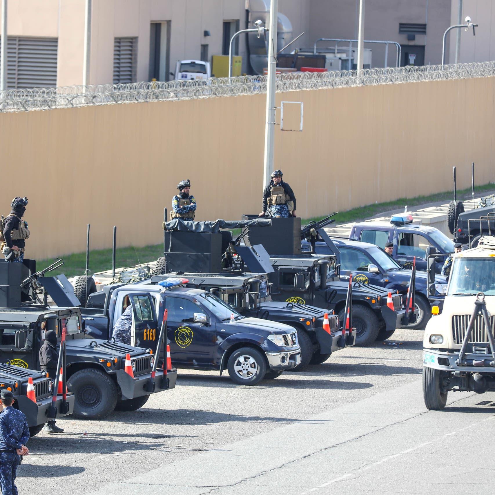 سفارة أميركا ببغداد.. الحشد ينسحب وحزب الله إلى الخيم