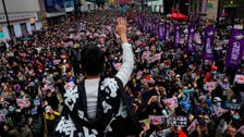 More than 1 million march in Hong Kong democracy rally: Organizers