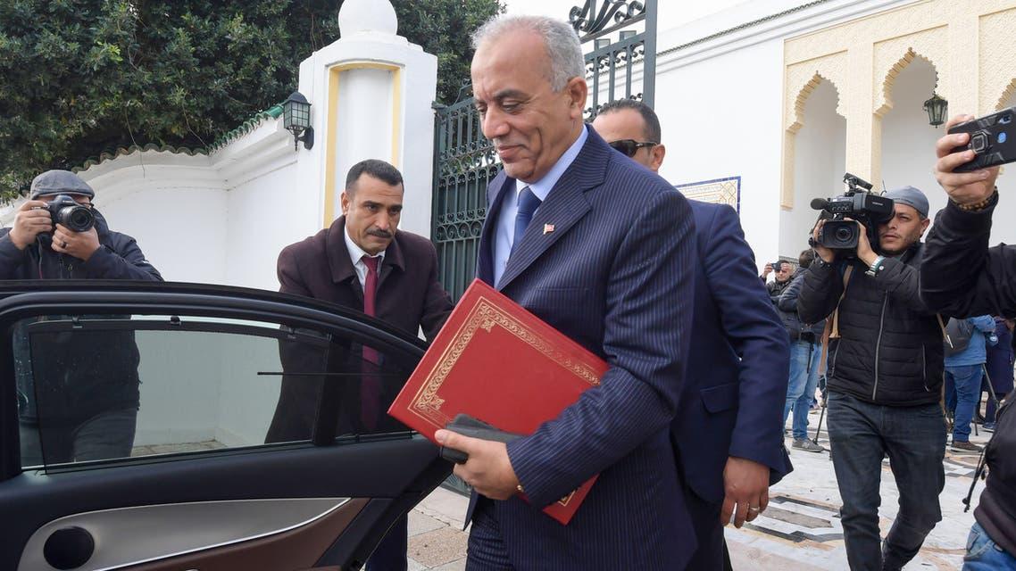 رئيس الحكومة التونسية الحبيب الجملي(فرانس برس)