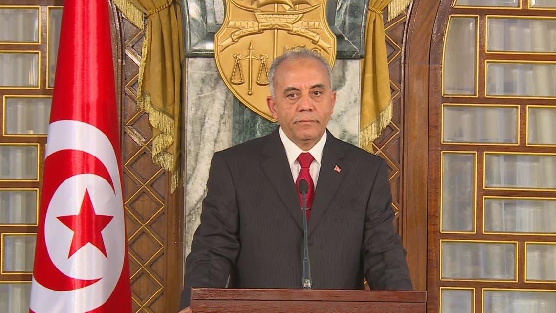 إعلان تشكيل الحكومة في تونس