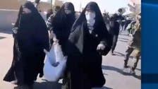 عراقی ملیشیائوں سے وابستہ عورتیں بھی امریکی سفارت خانے پر سنگ باری میں شامل