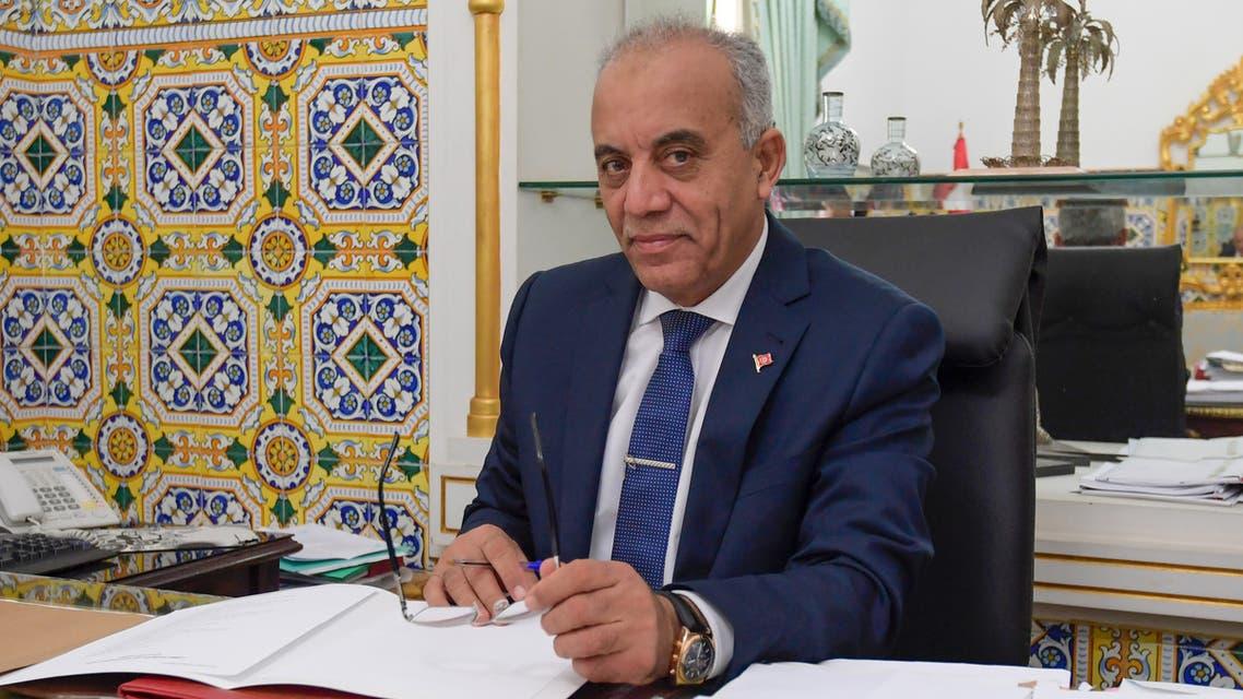 رئيس الحكومة التونسية حبيب الجملي(فرانس برس)
