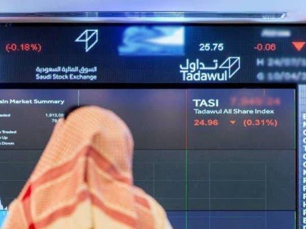 كورونا يهبط بمؤشر سوق الأسهم السعودية 2.% دون 7780 نقطة