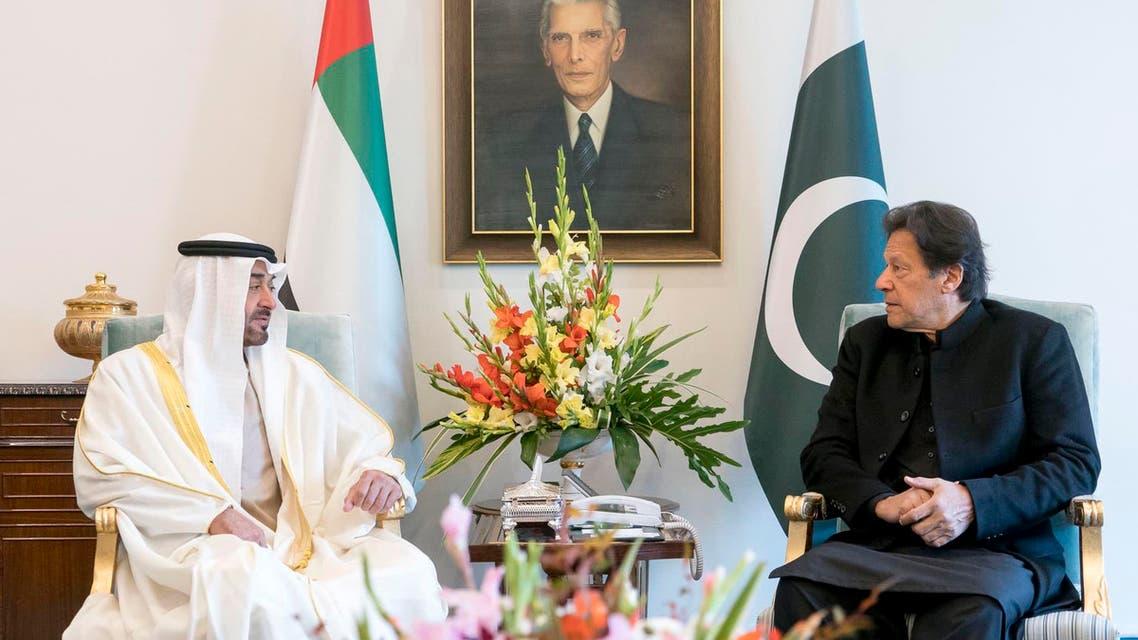 Imran Khan and  UAE Crown Prince