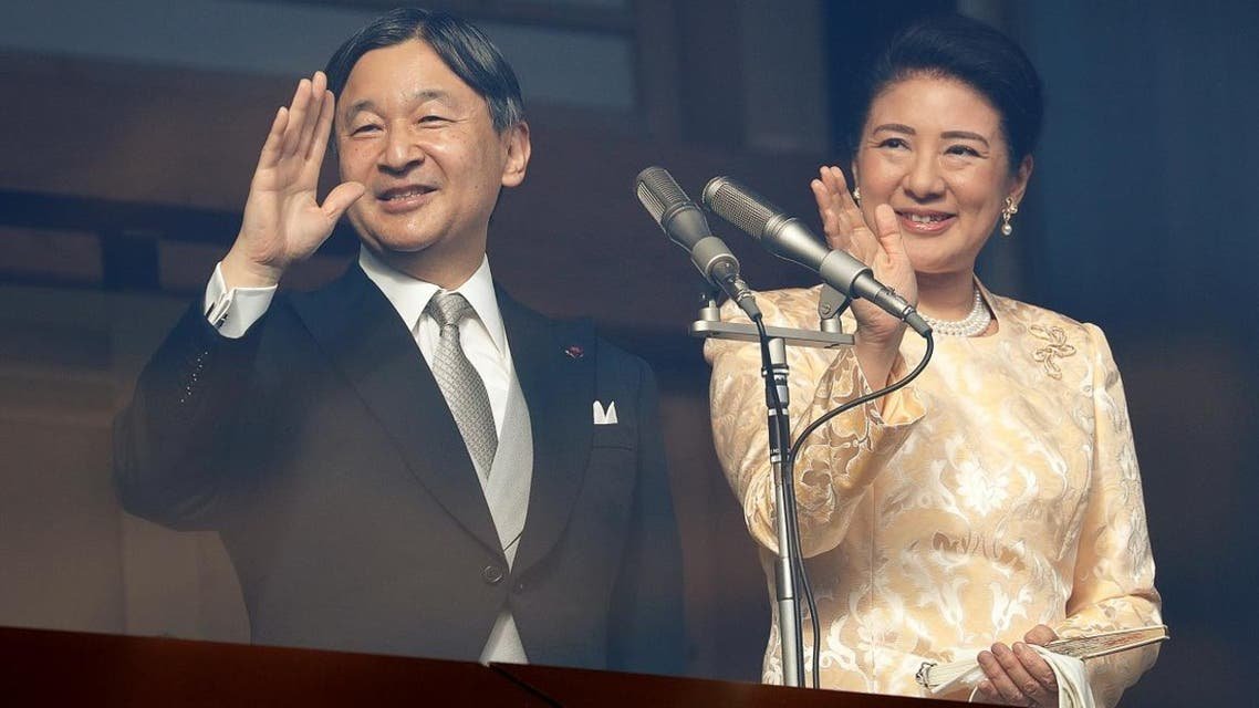 Japan's Emperor Naruhito and Empress Masako wave to well-wishers during a public appearance for New Year celebrations at the Imperial Palace in Tokyo, Japan, January 2, 2020. (Photo: Reuters)