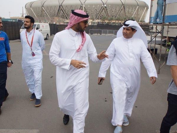 عبدالعزيز الفيصل يقف على آخر تجهيزات رالي داكار