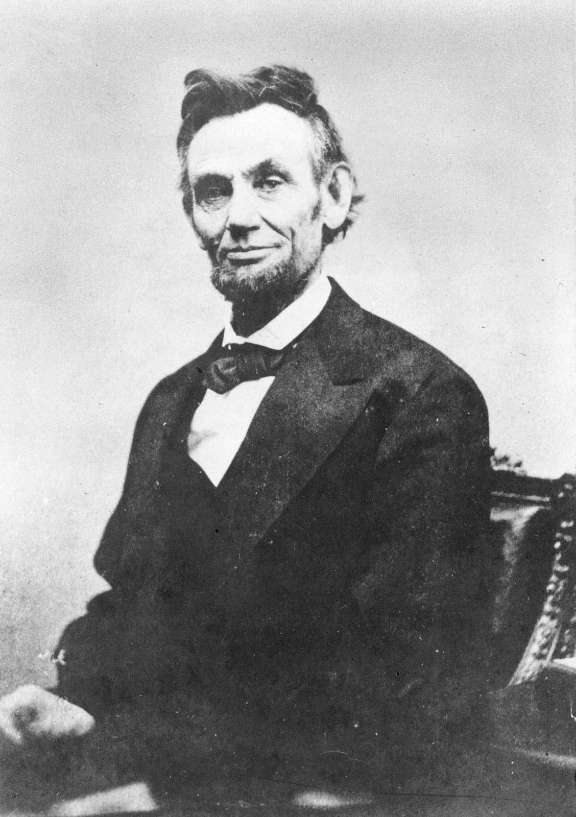 صورة للرئيس الأميركي أبراهام لينكولن
