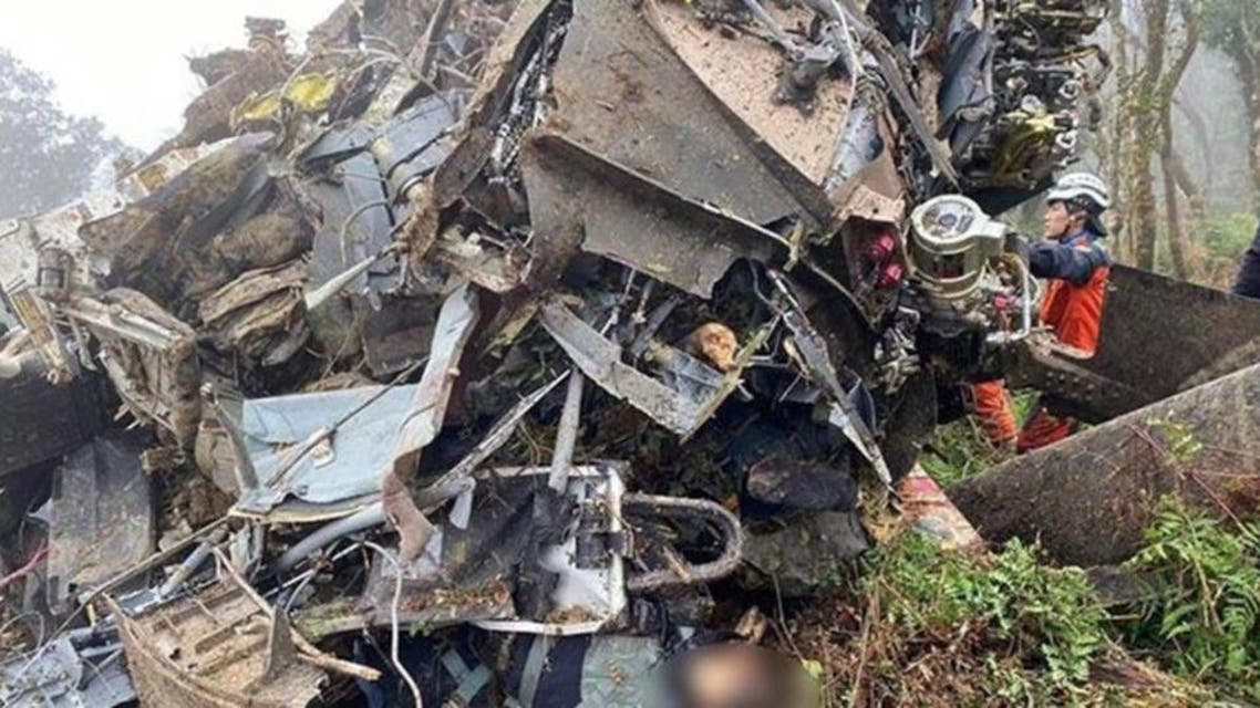 Taiwan helicopter crashed